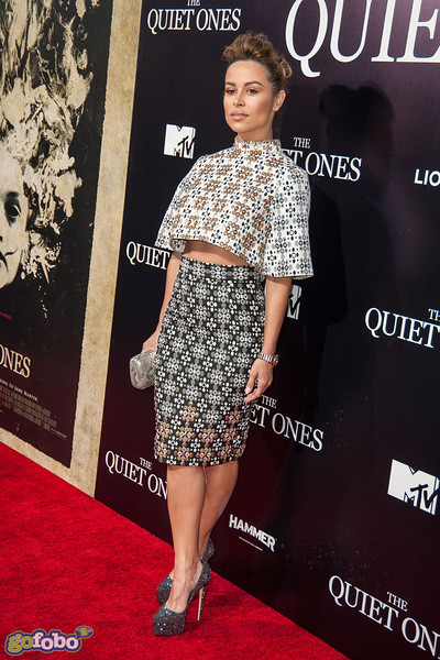 LOS ANGELES, CA - APRIL 22: Actress Zulay Henao arrives at the premiere of Lionsgate Films' 'The Quiet Ones' at The Theatre At Ace Hotel on Tuesday April 22, 2014 in Los Angeles, California. (Photo by Tom Sorensen/Moovieboy Pictures)