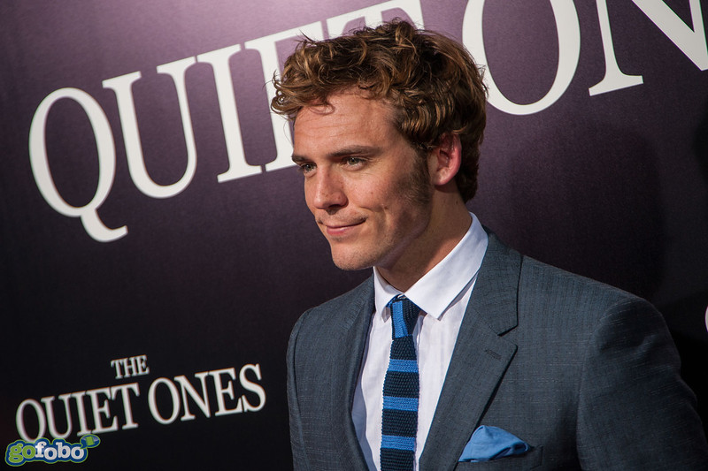 LOS ANGELES, CA - APRIL 22: Actor Sam Claflin arrives at the premiere of Lionsgate Films' 'The Quiet Ones' at The Theatre At Ace Hotel on Tuesday April 22, 2014 in Los Angeles, California. (Photo by Tom Sorensen/Moovieboy Pictures)
