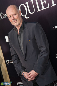 LOS ANGELES, CA - APRIL 22: Producer Simon Oakes arrives at the premiere of Lionsgate Films' 'The Quiet Ones' at The Theatre At Ace Hotel on Tuesday April 22, 2014 in Los Angeles, California. (Photo by Tom Sorensen/Moovieboy Pictures)