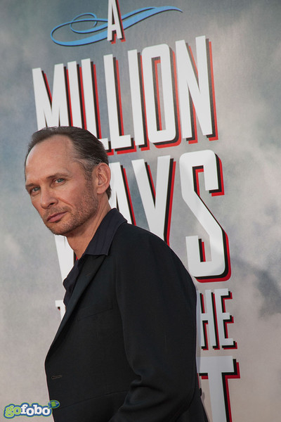 WESTWOOD, CA - MAY 15: Actor Brett Rickaby arrives at the premiere of Universal Pictures and MRC's 'A Million Ways To Die In The West' at Regency Village Theatre on Thursday May 15, 2014 in Westwood, California. (Photo by Tom Sorensen/Moovieboy Pictures)