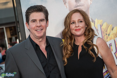 WESTWOOD, CA - MAY 15: KROQ Radio Personality and actor Ralph Garman and guest arrive at the premiere of Universal Pictures and MRC's 'A Million Ways To Die In The West' at Regency Village Theatre on Thursday May 15, 2014 in Westwood, California. (Photo by Tom Sorensen/Moovieboy Pictures)