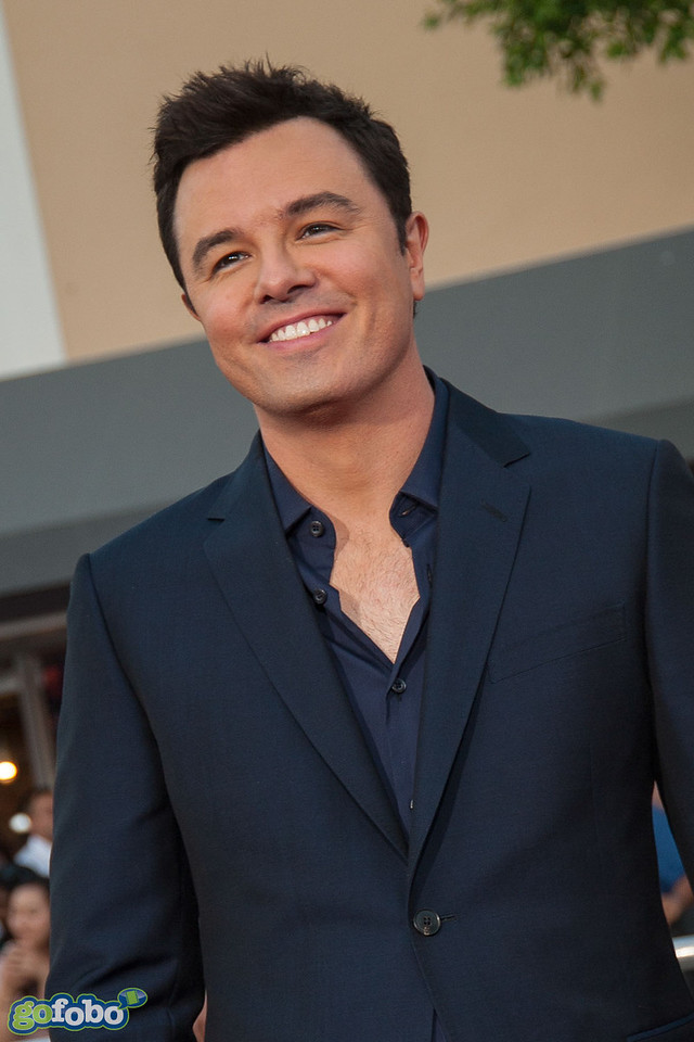 WESTWOOD, CA - MAY 15: Director Seth MacFarlane arrives at the premiere of Universal Pictures and MRC's 'A Million Ways To Die In The West' at Regency Village Theatre on Thursday May 15, 2014 in Westwood, California. (Photo by Tom Sorensen/Moovieboy Pictures)