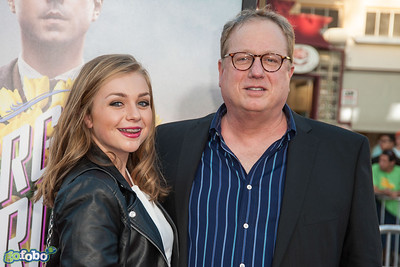 WESTWOOD, CA - MAY 15: Composer Joel McNeely (R) and guest arrive at the premiere of Universal Pictures and MRC's 'A Million Ways To Die In The West' at Regency Village Theatre on Thursday May 15, 2014 in Westwood, California. (Photo by Tom Sorensen/Moovieboy Pictures)