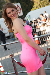 WESTWOOD, CA - MAY 15: Maitland Ward arrives at the premiere of Universal Pictures and MRC's 'A Million Ways To Die In The West' at Regency Village Theatre on Thursday May 15, 2014 in Westwood, California. (Photo by Tom Sorensen/Moovieboy Pictures)