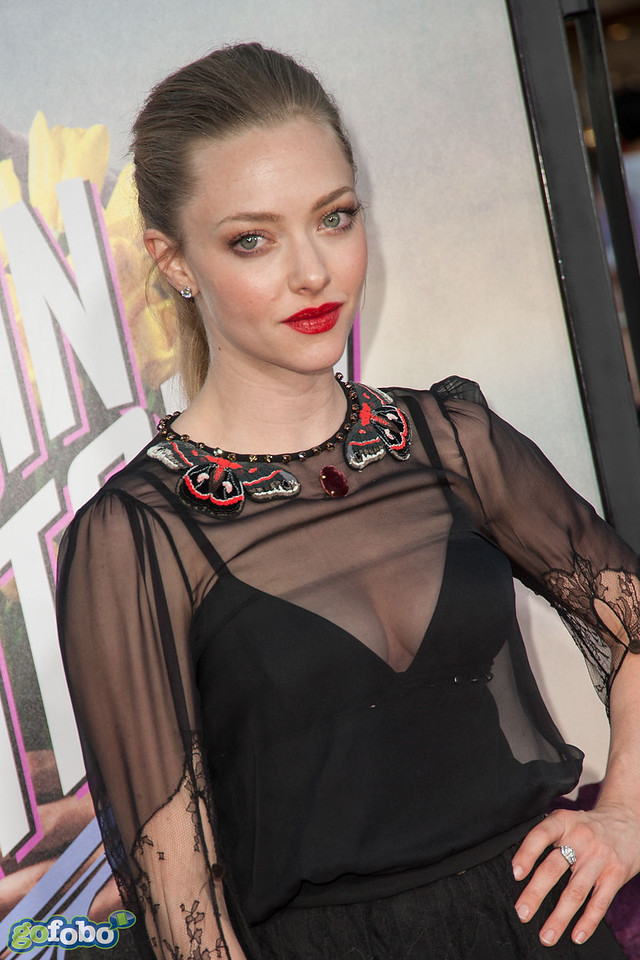 WESTWOOD, CA - MAY 15: Actress Amanda Seyfried arrives at the premiere of Universal Pictures and MRC's 'A Million Ways To Die In The West' at Regency Village Theatre on Thursday May 15, 2014 in Westwood, California. (Photo by Tom Sorensen/Moovieboy Pictures)