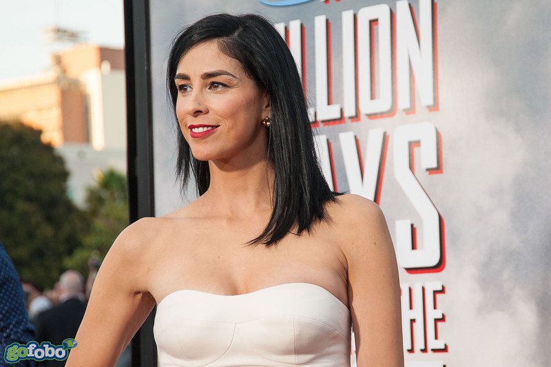 WESTWOOD, CA - MAY 15: Actress Sarah Silverman arrives at the premiere of Universal Pictures and MRC's 'A Million Ways To Die In The West' at Regency Village Theatre on Thursday May 15, 2014 in Westwood, California. (Photo by Tom Sorensen/Moovieboy Pictures)