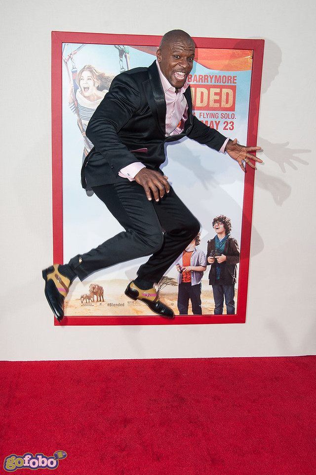 HOLLYWOOD, CA - MAY 21: Actor Terry Crews arrives at the Los Angeles premiere of 'Blended' at TCL Chinese Theatre on Wednesday May 21, 2014 in Hollywood, California. (Photo by Tom Sorensen/Moovieboy Pictures)
