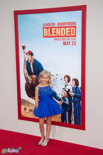 HOLLYWOOD, CA - MAY 21: Actress Alyvia Alyn arrives at the Los Angeles premiere of 'Blended' at TCL Chinese Theatre on Wednesday May 21, 2014 in Hollywood, California. (Photo by Tom Sorensen/Moovieboy Pictures)