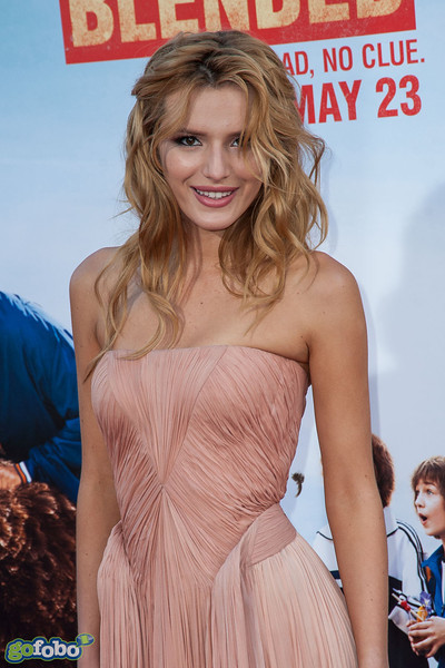 HOLLYWOOD, CA - MAY 21: Actress Bella Thorne arrives at the Los Angeles premiere of 'Blended' at TCL Chinese Theatre on Wednesday May 21, 2014 in Hollywood, California. (Photo by Tom Sorensen/Moovieboy Pictures)