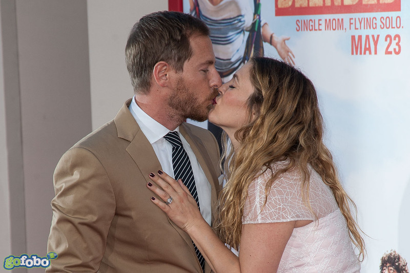 HOLLYWOOD, CA - MAY 21: Actress Drew Barrymore and Will Kopelman arrive at the Los Angeles premiere of 'Blended' at TCL Chinese Theatre on Wednesday May 21, 2014 in Hollywood, California. (Photo by Tom Sorensen/Moovieboy Pictures)