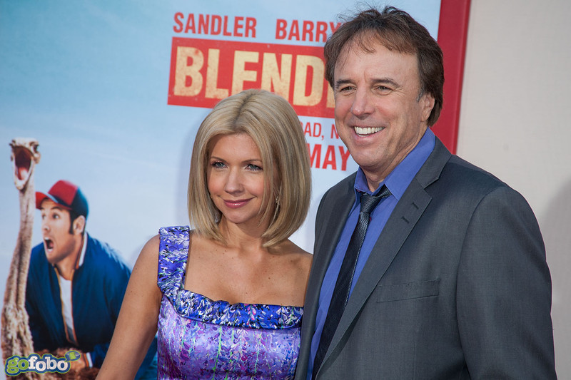 HOLLYWOOD, CA - MAY 21: Actor Kevin Nealon (R) and wife actress Susan Yeagley arrive at the Los Angeles premiere of 'Blended' at TCL Chinese Theatre on Wednesday May 21, 2014 in Hollywood, California. (Photo by Tom Sorensen/Moovieboy Pictures)