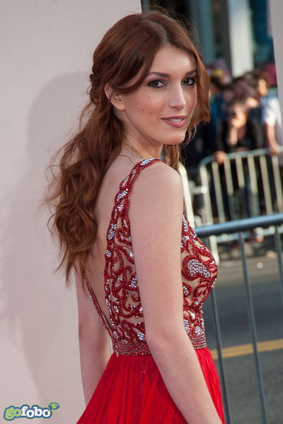 HOLLYWOOD, CA - MAY 21: Actress Dani Thorne arrives at the Los Angeles premiere of 'Blended' at TCL Chinese Theatre on Wednesday May 21, 2014 in Hollywood, California. (Photo by Tom Sorensen/Moovieboy Pictures)