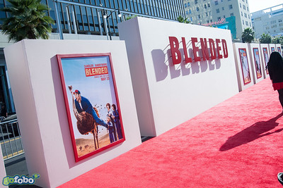 HOLLYWOOD, CA - MAY 21: Atmosphere at the Los Angeles premiere of 'Blended' at TCL Chinese Theatre on Wednesday May 21, 2014 in Hollywood, California. (Photo by Tom Sorensen/Moovieboy Pictures)