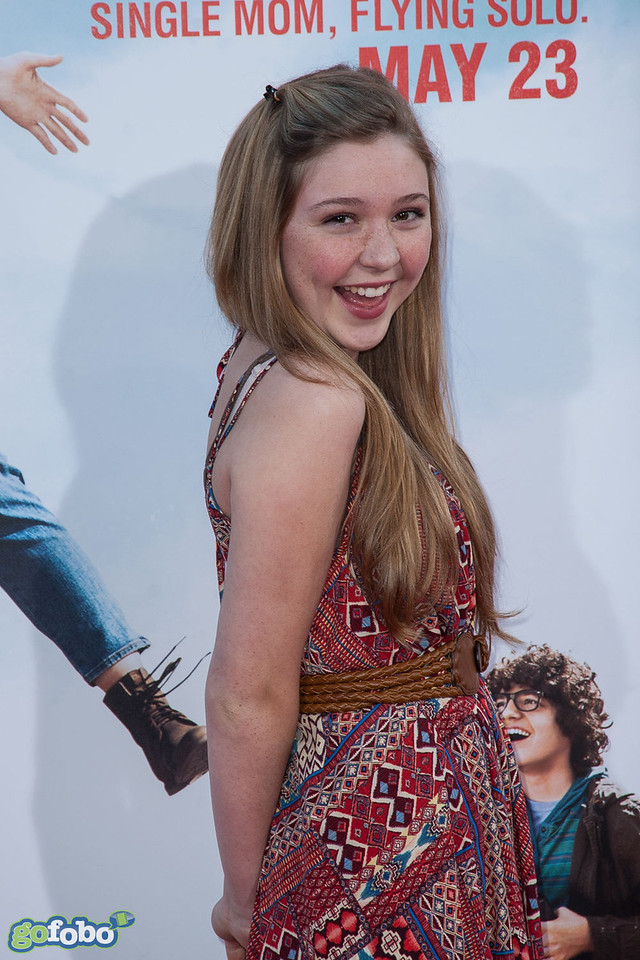 HOLLYWOOD, CA - MAY 21: Actress Cozi Zuehlsdorff arrives at the Los Angeles premiere of 'Blended' at TCL Chinese Theatre on Wednesday May 21, 2014 in Hollywood, California. (Photo by Tom Sorensen/Moovieboy Pictures)