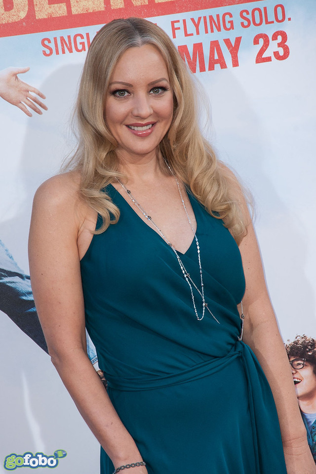 HOLLYWOOD, CA - MAY 21: Actress Wendi McLendon-Covey arrives at the Los Angeles premiere of 'Blended' at TCL Chinese Theatre on Wednesday May 21, 2014 in Hollywood, California. (Photo by Tom Sorensen/Moovieboy Pictures)