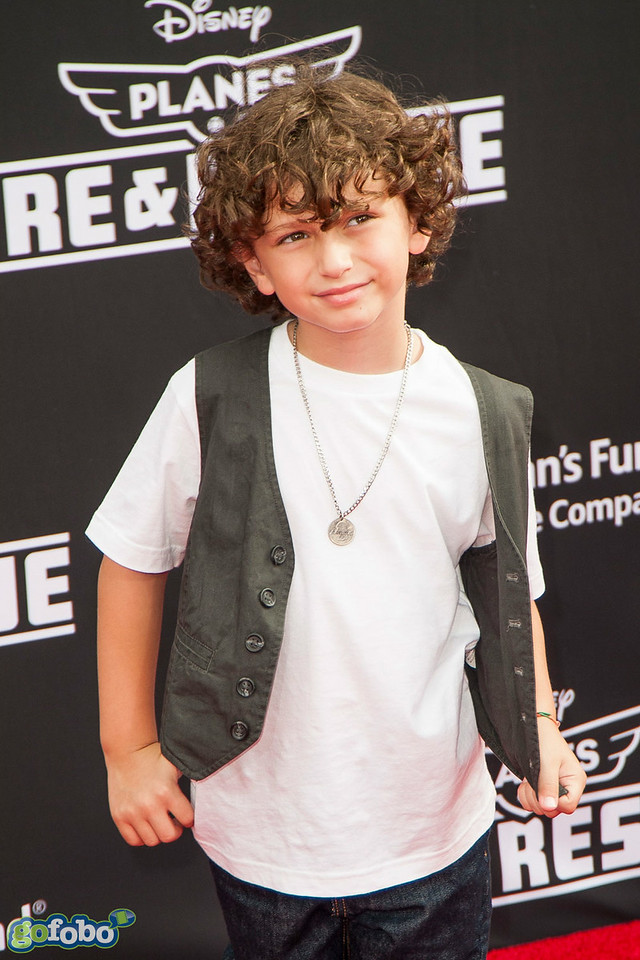 HOLLYWOOD, CA - JULY 15: Actor August Maturo attends the premiere of Disney's 'Planes: Fire & Rescue' at the El Capitan Theatre on Tuesday July 15, 2014 in Hollywood, California. (Photo by Tom Sorensen/Moovieboy Pictures)