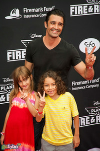 HOLLYWOOD, CA - JULY 15: Actor Gilles Marini (Top) and guests attend the premiere of Disney's 'Planes: Fire & Rescue' at the El Capitan Theatre on Tuesday July 15, 2014 in Hollywood, California. (Photo by Tom Sorensen/Moovieboy Pictures)