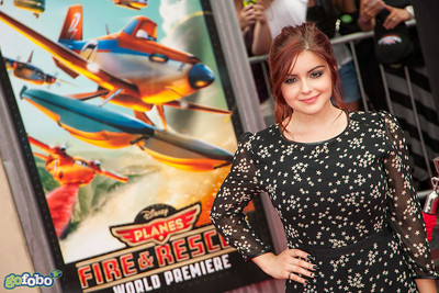 HOLLYWOOD, CA - JULY 15: Actress Ariel Winters attends the premiere of Disney's 'Planes: Fire & Rescue' at the El Capitan Theatre on Tuesday July 15, 2014 in Hollywood, California. (Photo by Tom Sorensen/Moovieboy Pictures)