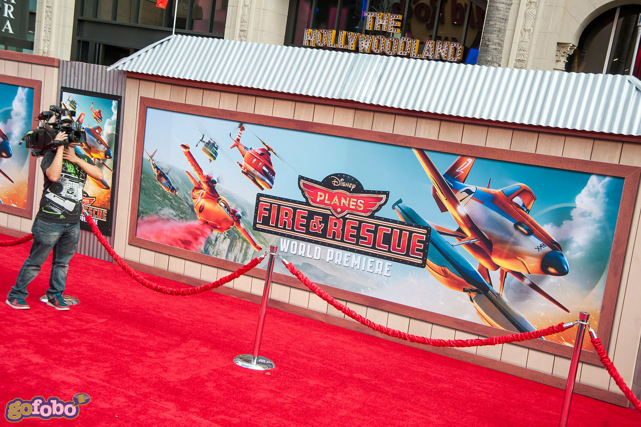 HOLLYWOOD, CA - JULY 15: Atmosphere at the premiere of Disney's 'Planes: Fire & Rescue' at the El Capitan Theatre on Tuesday July 15, 2014 in Hollywood, California. (Photo by Tom Sorensen/Moovieboy Pictures)