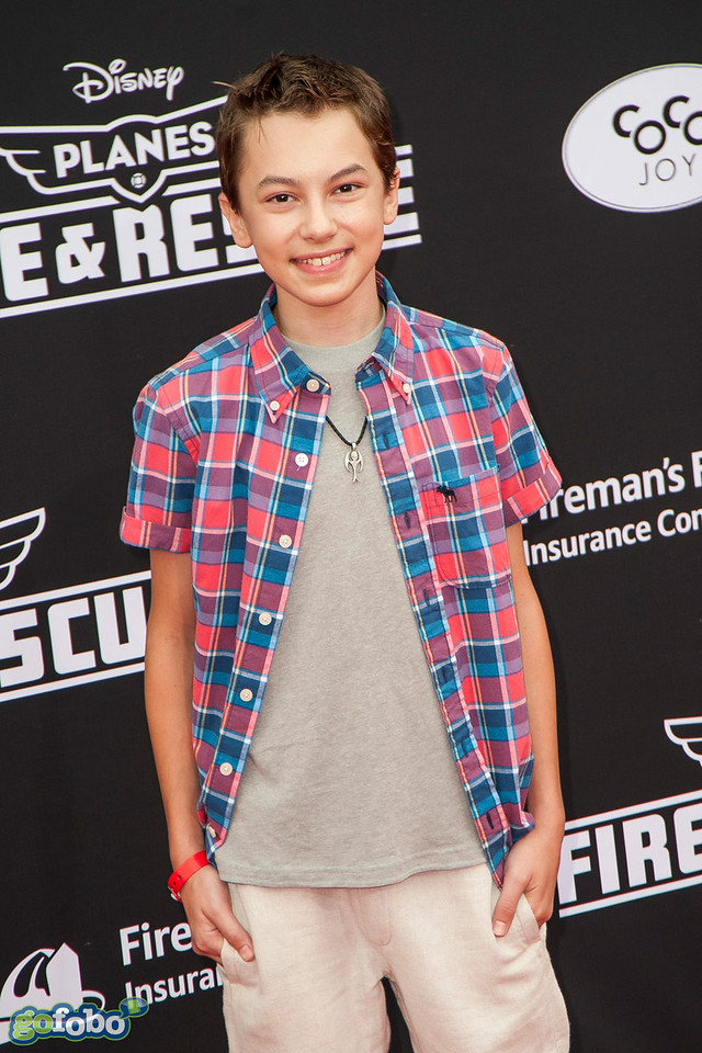 HOLLYWOOD, CA - JULY 15: Actor Hayden Byerly attends the premiere of Disney's 'Planes: Fire & Rescue' at the El Capitan Theatre on Tuesday July 15, 2014 in Hollywood, California. (Photo by Tom Sorensen/Moovieboy Pictures)