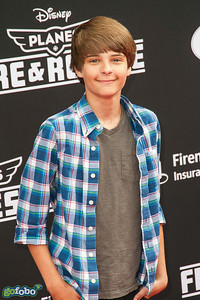 HOLLYWOOD, CA - JULY 15: Actor Corey Fogelmanis attends the premiere of Disney's 'Planes: Fire & Rescue' at the El Capitan Theatre on Tuesday July 15, 2014 in Hollywood, California. (Photo by Tom Sorensen/Moovieboy Pictures)