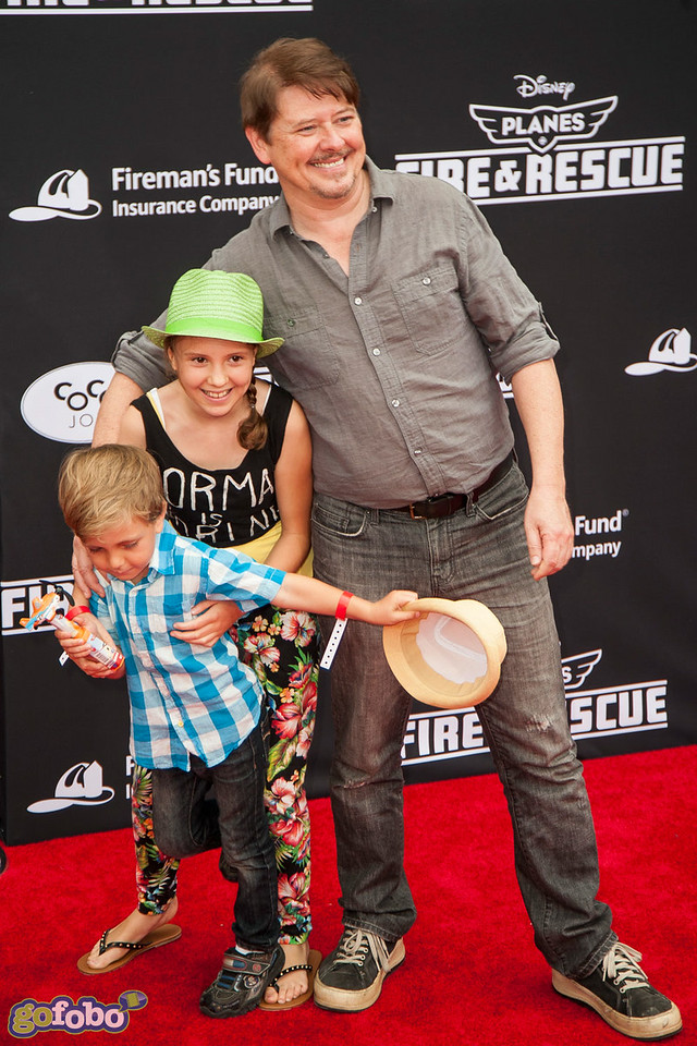 HOLLYWOOD, CA - JULY 15: Actor Dave Foley and guests attend the premiere of Disney's 'Planes: Fire & Rescue' at the El Capitan Theatre on Tuesday July 15, 2014 in Hollywood, California. (Photo by Tom Sorensen/Moovieboy Pictures)