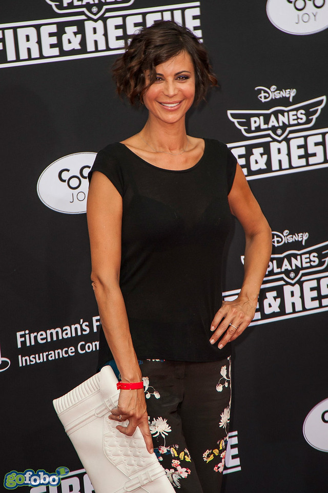 HOLLYWOOD, CA - JULY 15: Actress Catherine Bell attends the premiere of Disney's 'Planes: Fire & Rescue' at the El Capitan Theatre on Tuesday July 15, 2014 in Hollywood, California. (Photo by Tom Sorensen/Moovieboy Pictures)