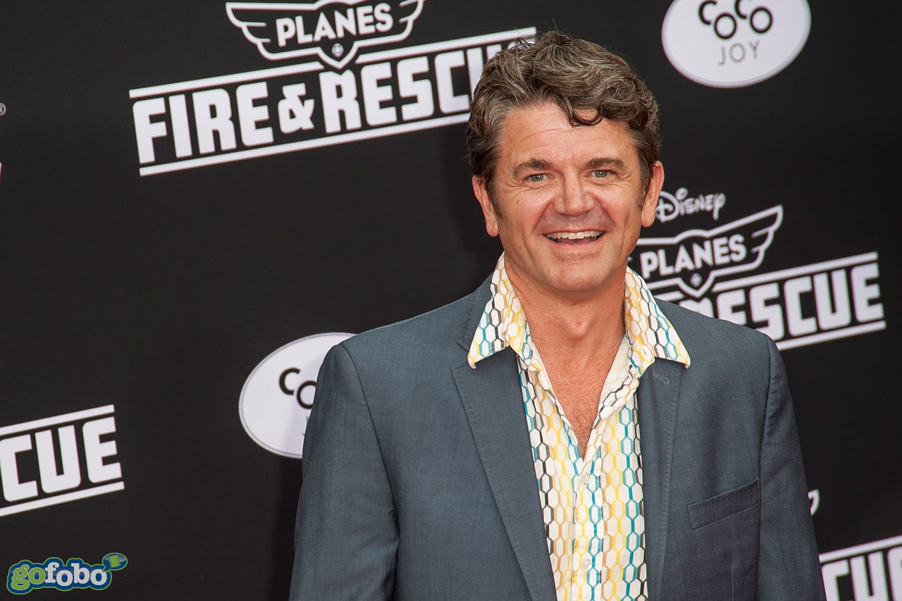 HOLLYWOOD, CA - JULY 15: Actor John Michael Higgins attends the premiere of Disney's 'Planes: Fire & Rescue' at the El Capitan Theatre on Tuesday July 15, 2014 in Hollywood, California. (Photo by Tom Sorensen/Moovieboy Pictures)