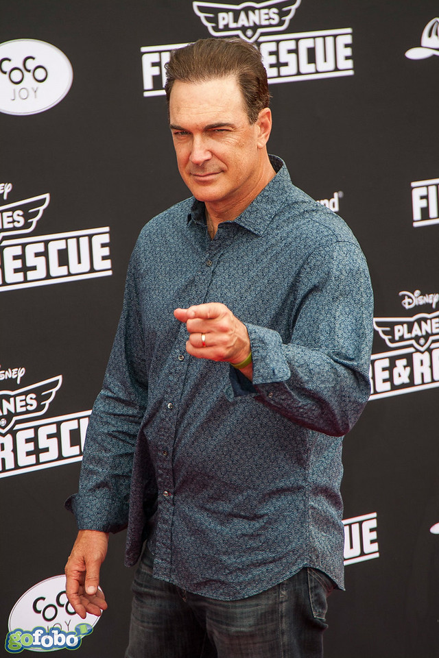 HOLLYWOOD, CA - JULY 15: Actor Patrick Warburton attends the premiere of Disney's 'Planes: Fire & Rescue' at the El Capitan Theatre on Tuesday July 15, 2014 in Hollywood, California. (Photo by Tom Sorensen/Moovieboy Pictures)