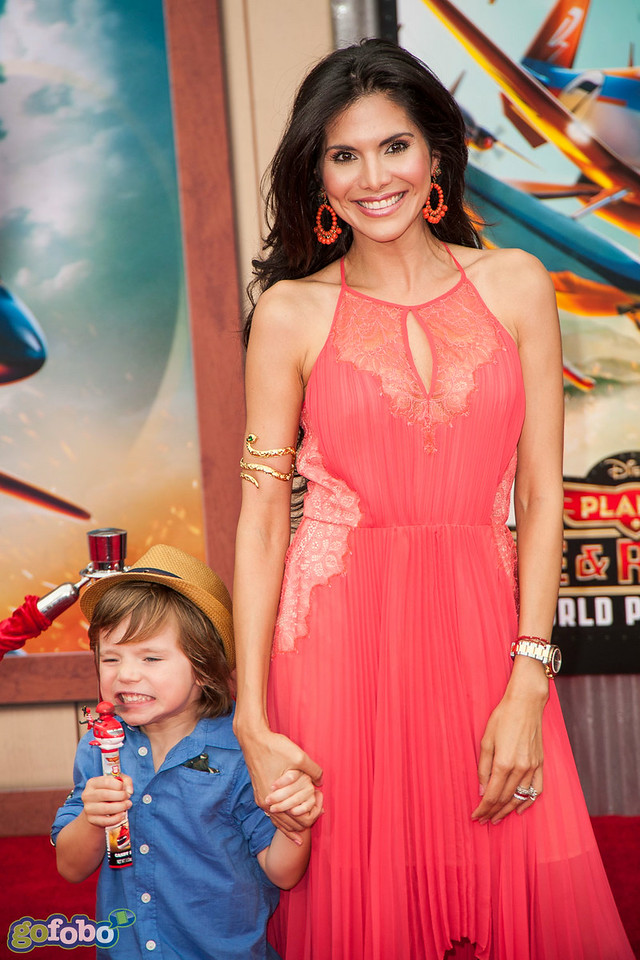HOLLYWOOD, CA - JULY 15: Actress Joyce Giraud attends the premiere of Disney's 'Planes: Fire & Rescue' at the El Capitan Theatre on Tuesday July 15, 2014 in Hollywood, California. (Photo by Tom Sorensen/Moovieboy Pictures)