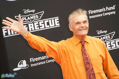 HOLLYWOOD, CA - JULY 15: Actor Fred Willard attends the premiere of Disney's 'Planes: Fire & Rescue' at the El Capitan Theatre on Tuesday July 15, 2014 in Hollywood, California. (Photo by Tom Sorensen/Moovieboy Pictures)