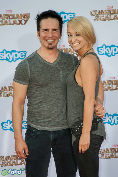 HOLLYWOOD, CA - JULY 21: Actor Hal Sparks and Summer Soltis attend Marvel's 'Guardians Of The Galaxy' Los Angeles Premiere at the Dolby Theatre on Monday July 21, 2014 in Hollywood, California. (Photo by Tom Sorensen/Moovieboy Pictures)