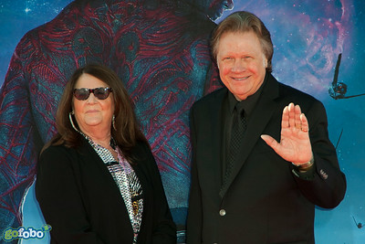 HOLLYWOOD, CA - JULY 21: Songwriter Mark James (R) and Karen James attend Marvel's 'Guardians Of The Galaxy' Los Angeles Premiere at the Dolby Theatre on Monday July 21, 2014 in Hollywood, California. (Photo by Tom Sorensen/Moovieboy Pictures)