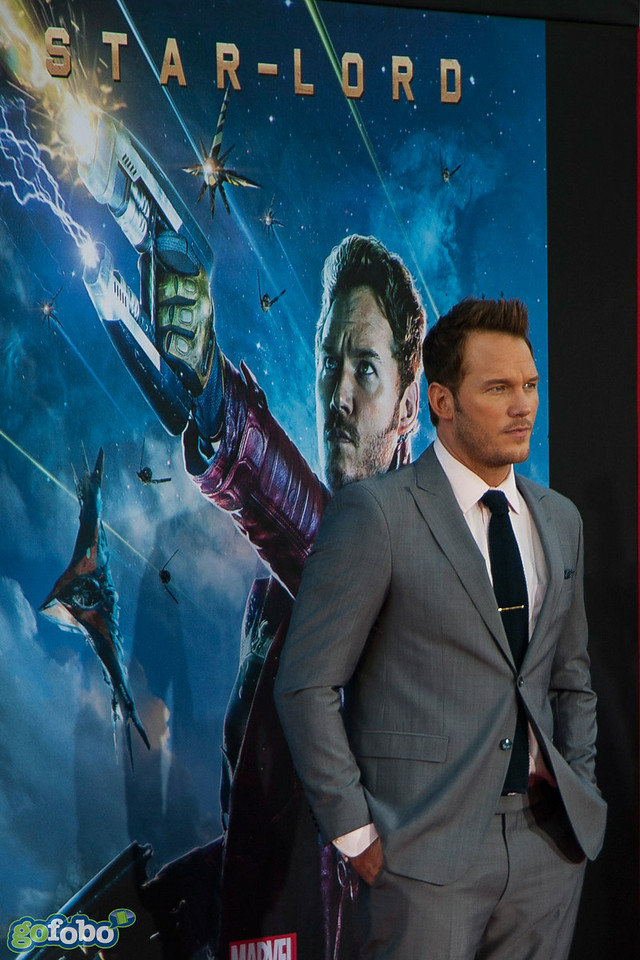 HOLLYWOOD, CA - JULY 21: Actor Chris Pratt attends Marvel's 'Guardians Of The Galaxy' Los Angeles Premiere at the Dolby Theatre on Monday July 21, 2014 in Hollywood, California. (Photo by Tom Sorensen/Moovieboy Pictures)
