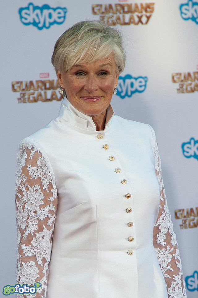 HOLLYWOOD, CA - JULY 21: Actress Glenn Close attends Marvel's 'Guardians Of The Galaxy' Los Angeles Premiere at the Dolby Theatre on Monday July 21, 2014 in Hollywood, California. (Photo by Tom Sorensen/Moovieboy Pictures)