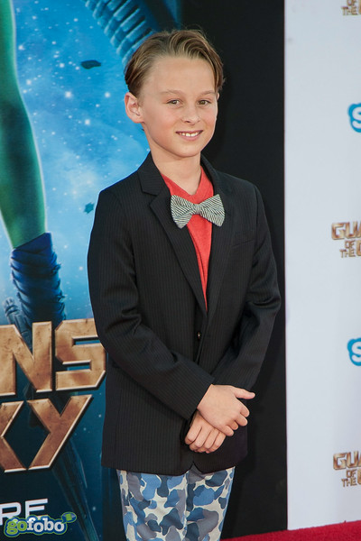 HOLLYWOOD, CA - JULY 21: Actor Wyatt Oleff attends Marvel's 'Guardians Of The Galaxy' Los Angeles Premiere at the Dolby Theatre on Monday July 21, 2014 in Hollywood, California. (Photo by Tom Sorensen/Moovieboy Pictures)
