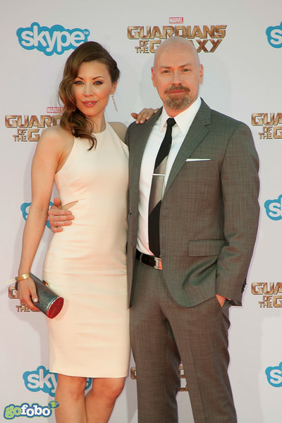 HOLLYWOOD, CA - JULY 21: Screenwriter Steven S. DeKnight (R) and Jamie Slater attend Marvel's 'Guardians Of The Galaxy' Los Angeles Premiere at the Dolby Theatre on Monday July 21, 2014 in Hollywood, California. (Photo by Tom Sorensen/Moovieboy Pictures)