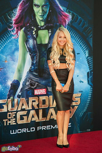 HOLLYWOOD, CA - JULY 21: Actress Kelli Berglund attends Marvel's 'Guardians Of The Galaxy' Los Angeles Premiere at the Dolby Theatre on Monday July 21, 2014 in Hollywood, California. (Photo by Tom Sorensen/Moovieboy Pictures)