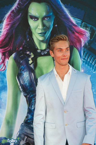 HOLLYWOOD, CA - JULY 21: Actor Austin North attends Marvel's 'Guardians Of The Galaxy' Los Angeles Premiere at the Dolby Theatre on Monday July 21, 2014 in Hollywood, California. (Photo by Tom Sorensen/Moovieboy Pictures)