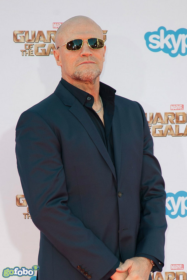 HOLLYWOOD, CA - JULY 21: Actor Michael Rooker attends Marvel's 'Guardians Of The Galaxy' Los Angeles Premiere at the Dolby Theatre on Monday July 21, 2014 in Hollywood, California. (Photo by Tom Sorensen/Moovieboy Pictures)