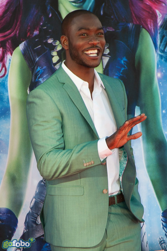 HOLLYWOOD, CA - JULY 21: Actor B.J. Britt attends Marvel's 'Guardians Of The Galaxy' Los Angeles Premiere at the Dolby Theatre on Monday July 21, 2014 in Hollywood, California. (Photo by Tom Sorensen/Moovieboy Pictures)