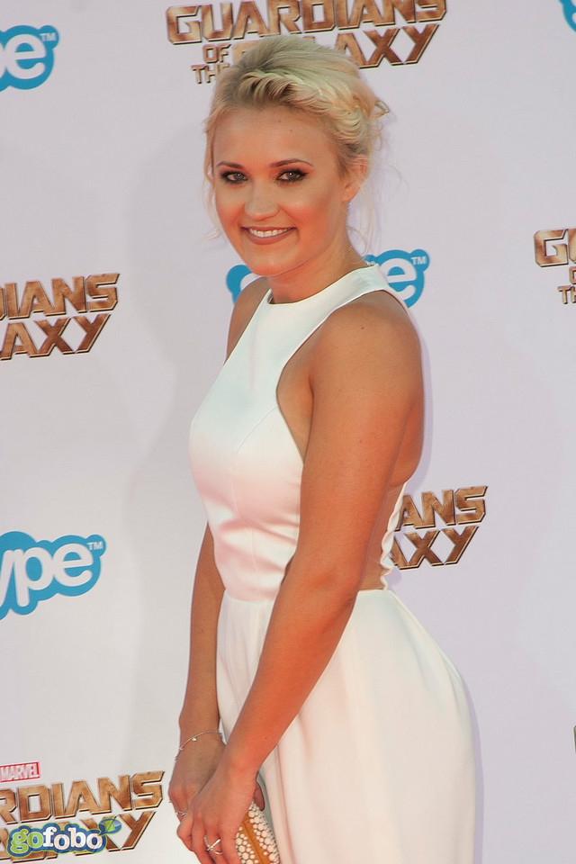 HOLLYWOOD, CA - JULY 21: Actress Emily Osment attends Marvel's 'Guardians Of The Galaxy' Los Angeles Premiere at the Dolby Theatre on Monday July 21, 2014 in Hollywood, California. (Photo by Tom Sorensen/Moovieboy Pictures)