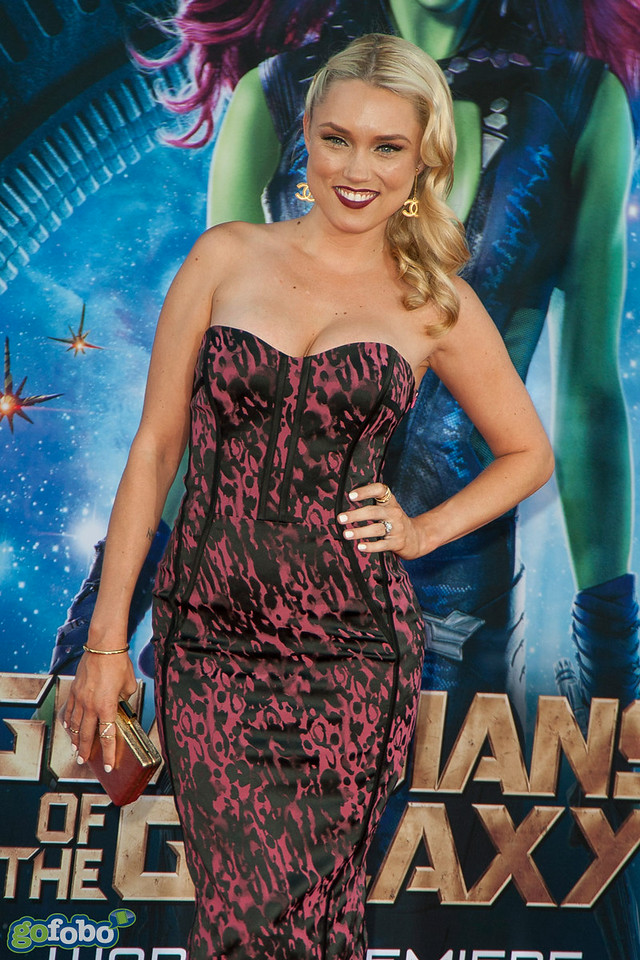 HOLLYWOOD, CA - JULY 21: Actress Clare Grant attends Marvel's 'Guardians Of The Galaxy' Los Angeles Premiere at the Dolby Theatre on Monday July 21, 2014 in Hollywood, California. (Photo by Tom Sorensen/Moovieboy Pictures)