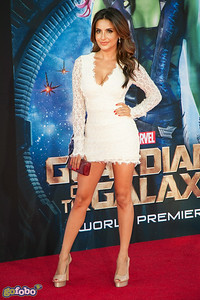HOLLYWOOD, CA - JULY 21: Actress Mikaela Hoover attends Marvel's 'Guardians Of The Galaxy' Los Angeles Premiere at the Dolby Theatre on Monday July 21, 2014 in Hollywood, California. (Photo by Tom Sorensen/Moovieboy Pictures)