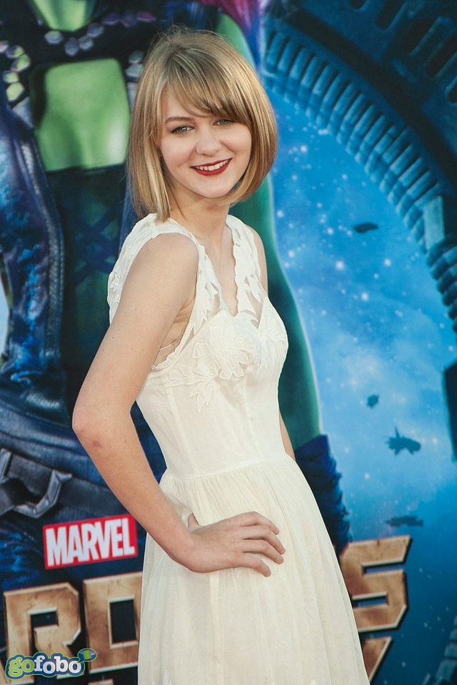 HOLLYWOOD, CA - JULY 21: Actress Ryan Simpkins attends Marvel's 'Guardians Of The Galaxy' Los Angeles Premiere at the Dolby Theatre on Monday July 21, 2014 in Hollywood, California. (Photo by Tom Sorensen/Moovieboy Pictures)