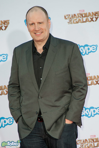 HOLLYWOOD, CA - JULY 21: President of Marvel Studios/Producer Kevin Feige  attends Marvel's 'Guardians Of The Galaxy' Los Angeles Premiere at the Dolby Theatre on Monday July 21, 2014 in Hollywood, California. (Photo by Tom Sorensen/Moovieboy Pictures)