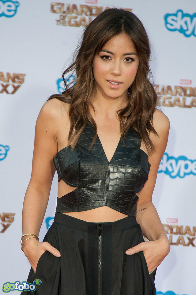 HOLLYWOOD, CA - JULY 21: Actress Chloe Bennet attends Marvel's 'Guardians Of The Galaxy' Los Angeles Premiere at the Dolby Theatre on Monday July 21, 2014 in Hollywood, California. (Photo by Tom Sorensen/Moovieboy Pictures)