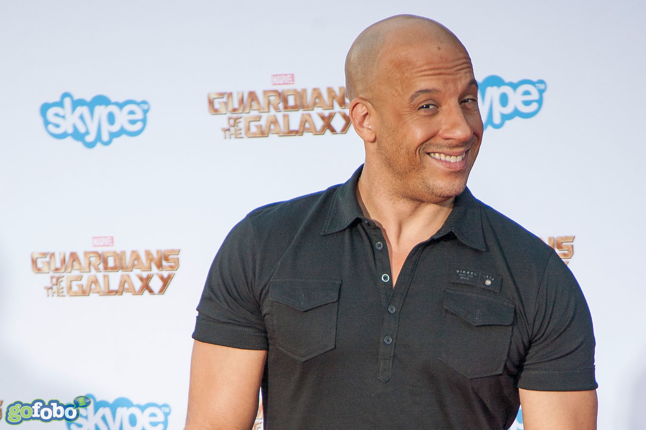 HOLLYWOOD, CA - JULY 21: Actor Vin Diesel attends Marvel's 'Guardians Of The Galaxy' Los Angeles Premiere at the Dolby Theatre on Monday July 21, 2014 in Hollywood, California. (Photo by Tom Sorensen/Moovieboy Pictures)