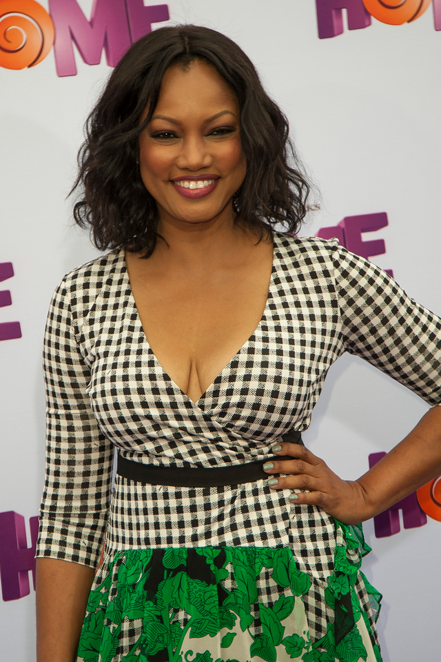 WESTWOOD, CA - MARCH 22: Actress Garcelle Beauvais arrives for the Premiere Of Twentieth Century Fox And Dreamworks Animation's 'HOME' held at Regency Village Theatre on Sunday March 22, 2015 in Westwood, California. (Photo by Tom Sorensen/Moovieboy Pictures)