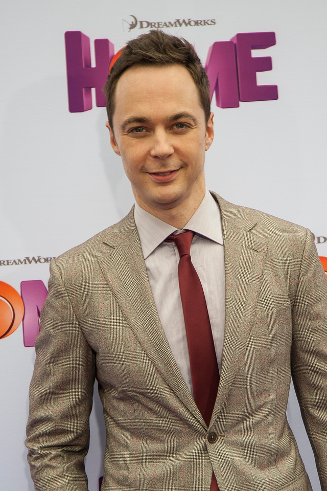 WESTWOOD, CA - MARCH 22: Actor Jim Parsons arrives for the Premiere Of Twentieth Century Fox And Dreamworks Animation's 'HOME' held at Regency Village Theatre on Sunday March 22, 2015 in Westwood, California. (Photo by Tom Sorensen/Moovieboy Pictures)